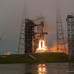 Jared: ULA Delta IV GPS IIF-9: Liftoff into the fog!
