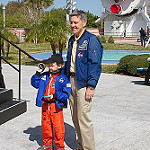 CRS-3 Scrub 1 Bill: Two Astronauts