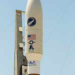 AFSPC-5 (Jared): Atlas V Payload Fairing with X-37B Mission Artwork