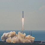 Jared: Falcon 9 CRS-7: Falcon 9 liftoff carrying CRS-7 Dragon capsule