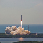 Jared: Falcon 9 CRS-7: Liftoff of SpaceX Falcon 9 carrying CRS-7