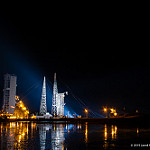 Jared: Delta IV / WGS-7: Delta IV launchpad, T+90 minutes later