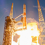 Jared: Delta IV / WGS-7: Rising on a column of flame