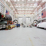 Orbital ATK / Antares Media Day: Antares Horizontal Integration Facility