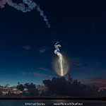 MUOS4 AtlasV Launch (Michael Seeley): AtlasV MUOS-4 downrange by United Launch Alliance