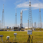 SpaceX Orbcomm-2 Mission: Remote cameras aimed at SpaceX Falcon 9