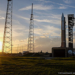 Jared: Atlas V / Orbital ATK Cygnus OA-4 CRS-4: Sunset at SLC-41