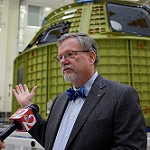 Orion EM-1 Spacecraft at Kennedy Space Center: Michael Hawes