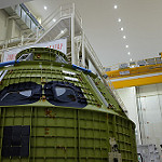 Orion EM-1 Spacecraft at Kennedy Space Center: Orion EM-1 Spacecraft at KSC