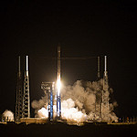 Atlas V / OA-6 Launch (Jared Haworth): Atlas V clears the tower