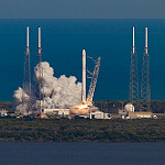 Falcon 9 / CRS-8 Launch: Falcon 9 Ignition