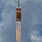 Delta IV Heavy / NROL-37 (Jared & Dawn Haworth): Delta IV Heavy in Flight