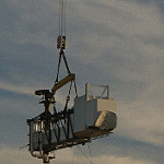 Boeing Crew Access Arm and White Room Lifted to SLC-41: BoeingCrewAccessArm-105