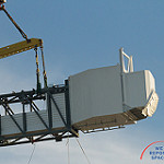 Boeing Crew Access Arm and White Room Lifted to SLC-41: BoeingCrewAccessArm-108