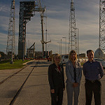 Boeing Crew Access Arm and White Room Lifted to SLC-41: BoeingCrewAccessArm-123