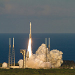 Atlas V / OSIRIS-REx (Jared Haworth): Liftoff of OSIRIS-REx atop an Atlas V 411 Rocket