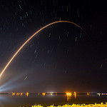 Atlas V / GOES-R (Michael Seeley): GOESR and 15 minutes of star trails