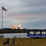 Falcon 9 / SpaceX CRS-10 (Jared Haworth): Liftoff of the Falcon 9 Rocket from Kennedy Space Center