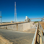 Falcon 9 / SpaceX CRS-10 (Bill & Mary Ellen Jelen): Pad 39B Flame Trench