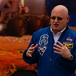 Summer of Mars at Kennedy Space Center (Bill & Mary Ellen Jelen): Scott Kelly