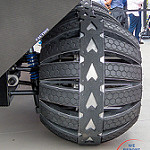 Summer of Mars at Kennedy Space Center (Bill & Mary Ellen Jelen): Tires on Concept Mars Rover