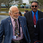 NASA / KSC Day of Remembrance (Bill Jelen): Buzz Aldrin and Winston Scott