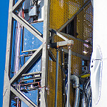Falcon 9 / Zuma Launch (Bill and Mary Ellen Jelen): Detail of SLC-40 TE