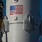 Falcon 9 / Zuma Launch (Bill and Mary Ellen Jelen): Grid Fins