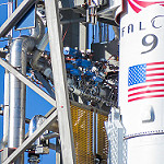 Falcon 9 / Zuma Launch (Bill and Mary Ellen Jelen): Industrial Detail