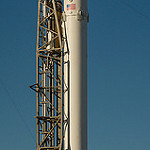 Falcon 9 / Zuma Launch (Bill and Mary Ellen Jelen): Panoramic Falcon 9