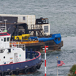 SpaceX Droneship returns empty after Falcon Heavy: OCISLYReturnsThrustersFL-1