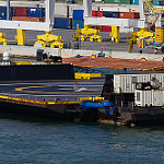 SpaceX Droneship returns empty after Falcon Heavy: OCISLYReturnsWideFL-7