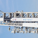 Falcon 9 / Bangabandhu-1 (Michael Seeley): Bangabandhu1 Block5 Falcon9 by SpaceX