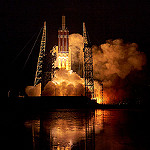 Delta IV Heavy / Parker Solar Probe (Jared Haworth): Delta IV Heavy Clears the Tower