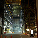 Delta IV Heavy / Parker Solar Probe (Jared Haworth): Inside the VAB At Night