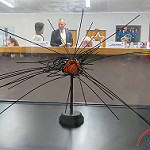 Delta IV Heavy / Parker Solar Probe (Bill and Mary Ellen Jelen): Model of Parker Solar Probe