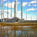 Antares / Cygnus NG-10 (Jared Haworth): Antares Ready for Launch