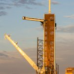 SpaceX Crew Dragon DM-1 (Bill Jelen): Sunrise at LC-39A