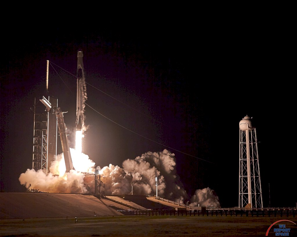 SpaceX speeds Crew Dragon on its maiden voyage to the ISS - We