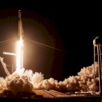 Falcon 9 / SpaceX Crew Dragon Demo-1 (Jared Haworth):