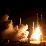 Falcon 9 / Nusantara Satu (Bill & Mary Ellen Jelen): Launch from Remote Camera