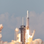 Falcon Heavy / ArabSat-6A (Michael Seeley): ArabSat6a Falcon Heavy by SpaceX
