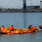304th Rescue Detachment Conducts At-Sea Training with Boeing Starliner: Inflating the Front Porch