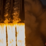 Falcon Heavy / ArabSat-6A (Bill and Mary Ellen Jelen): 27 Merlin Engines