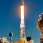 Falcon Heavy / ArabSat-6A (Bill and Mary Ellen Jelen): From Beach Road