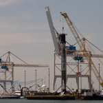 Falcon 9 / SpaceX Starlink: Return to Port Canaveral