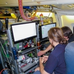 FireX-AQ in Boise ID: Scientists at Work in the DC-8