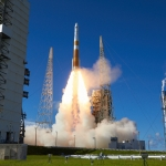 Delta IV / GPS III SV02 (Jared Haworth): Delta IV Liftoff from SLC-37B