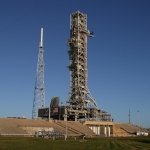 Sound Suppression System Final Test (Michael Howard): SLS Mobile Launcher at LC-39B
