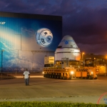 Boeing Starliner EFT-1 Rollout  (Bill Jelen): Boeing CST-100 Rollout
